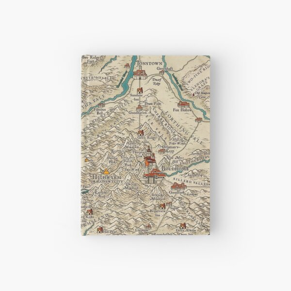 Lands of the Colymar Tribe and Surrounding Regions by Josephe Vandel Hardcover Journal