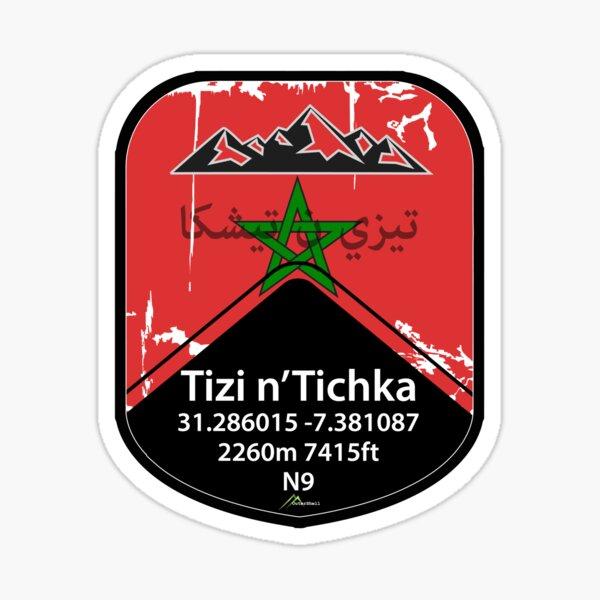 Tizi n'Tichka Pass Morocco Autocollant & T-shirt Sticker