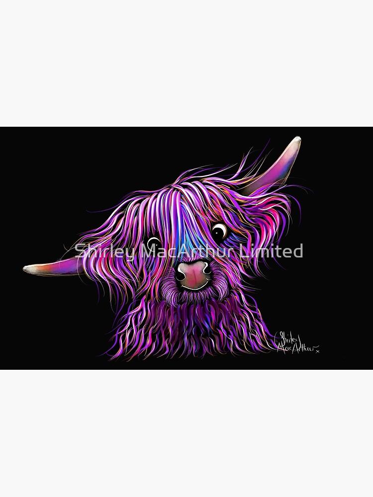HiGHLaND CoW PRiNT SCoTTiSH ' HuCKLeBeRRY ' BY SHiRLeY MacARTHuR by ShirleyMacA
