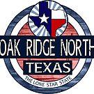 Oak Ridge North Texas rustic wood circle by artisticattitud