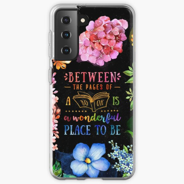 Between the pages (black) Samsung Galaxy Soft Case