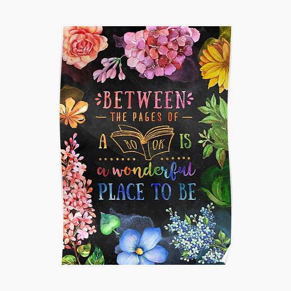 Between the pages (black) Poster
