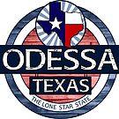 Odessa Texas rustic wood circle by artisticattitud