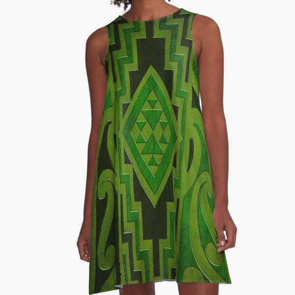 Tangiwai A-Line Dress