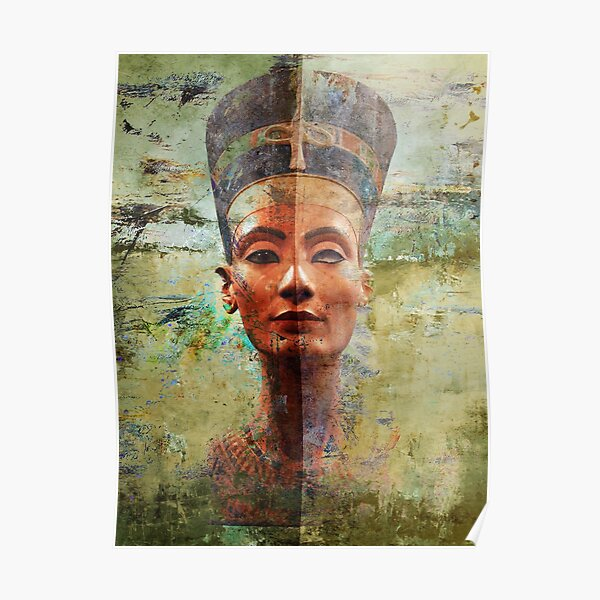 Queen Nefertiti Ancient Egypt  Poster