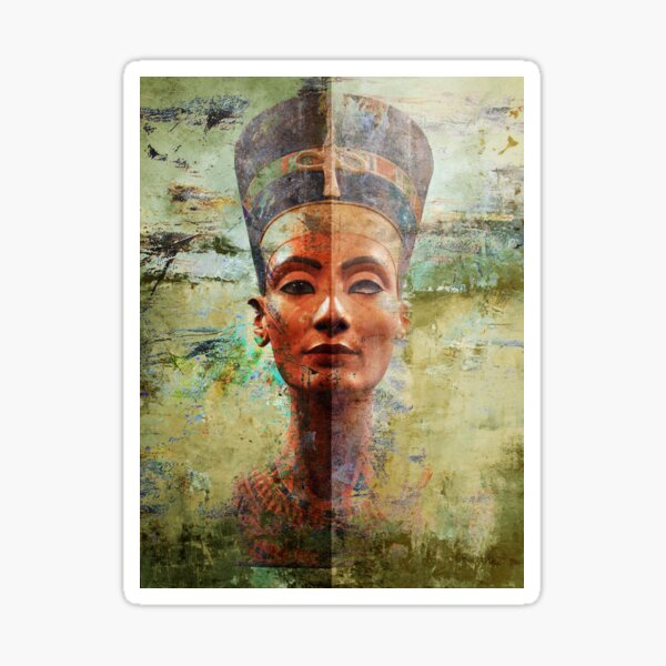 Queen Nefertiti Ancient Egypt  Sticker