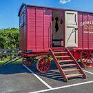 1900 Clayton & Shuttleworth Living Wagon by Colin Smedley