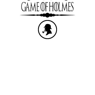 Sherlock Holmes T-Shirt British Detective Mystery Crimes  by TopTeeShop