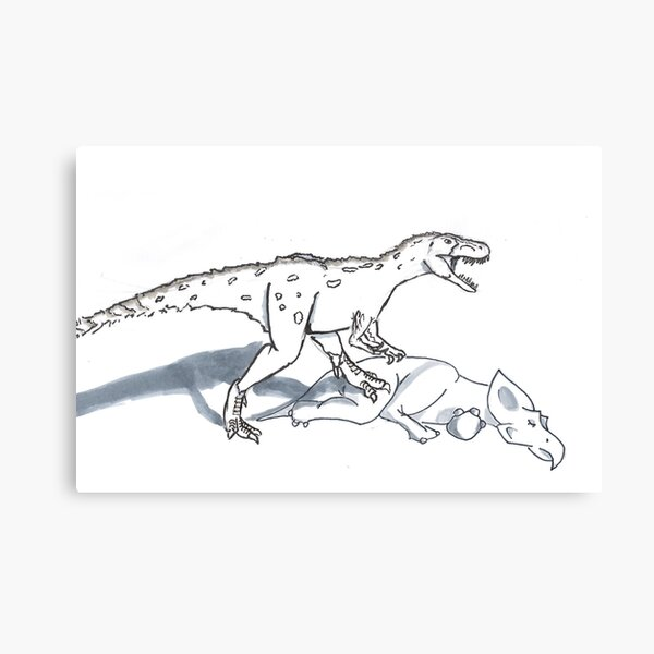 Gorgosaurus Canvas Print
