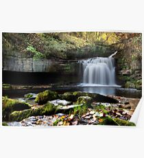 Cauldron Falls - West Burton Poster