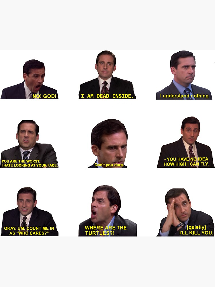 Michael Scott Quotes from The Office by katiehugh