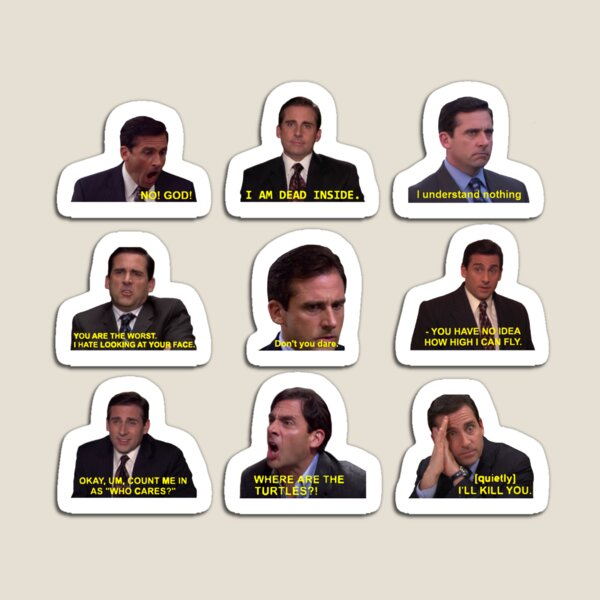 Michael Scott Quotes from The Office Magnet