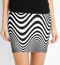 OP ART Mini Skirt
