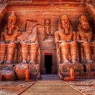 Abu Simbel by Nigel Fletcher-Jones