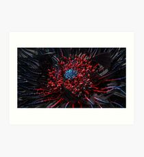 Cyber Blossom Art Print