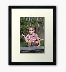 Big Boy's Game Framed Print