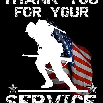 Thank You for Your Service Veterans Day by Bullish-Bear