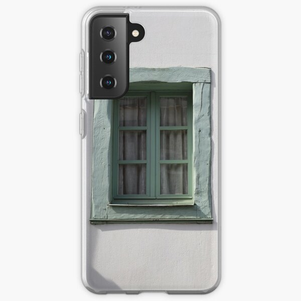 www.lizgarnett.com - Vannes, Brittany, France - window Samsung Galaxy Soft Case