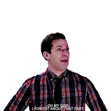 "Jake Peralta: ""Me olvidé de esa parte"" de ellalucy"