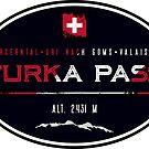 Furka Pass Switzerland 02 T-Shirt & Sticker by ROADTROOPER