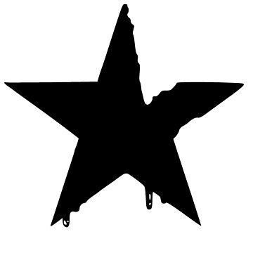 Dripping Star by realmatdesign