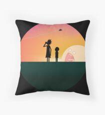 Horizon of Adventure Throw Pillow