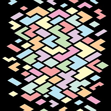 Vibrant Geometric Pattern by Fangpunk