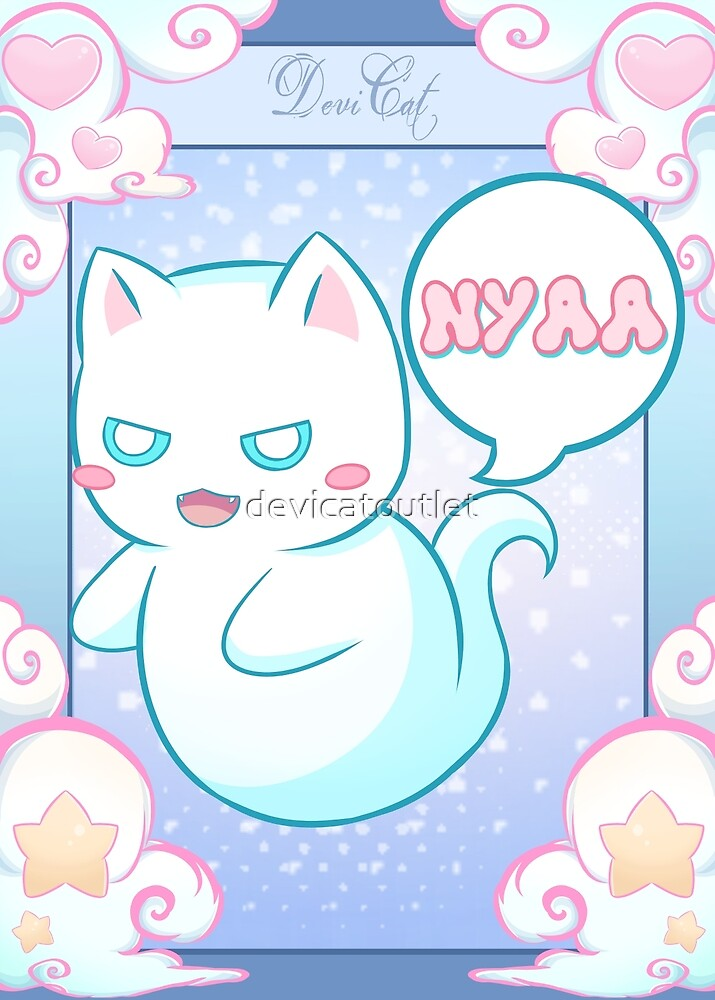 Ghost Cat - Nyaa - 2018 by devicatoutlet