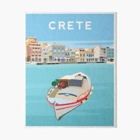 Crete - Agios Nikolaos Art Board Print