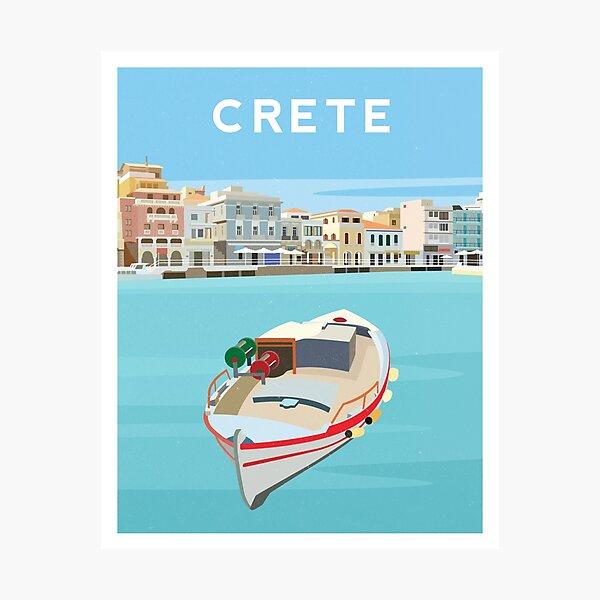 Crete - Agios Nikolaos Photographic Print