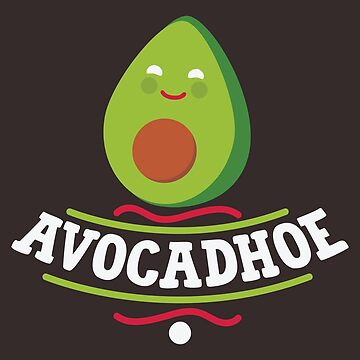 Avocadhoe Shirt Vegan TShirt Gift Avocado Lovers Vegetarians by artbyanave