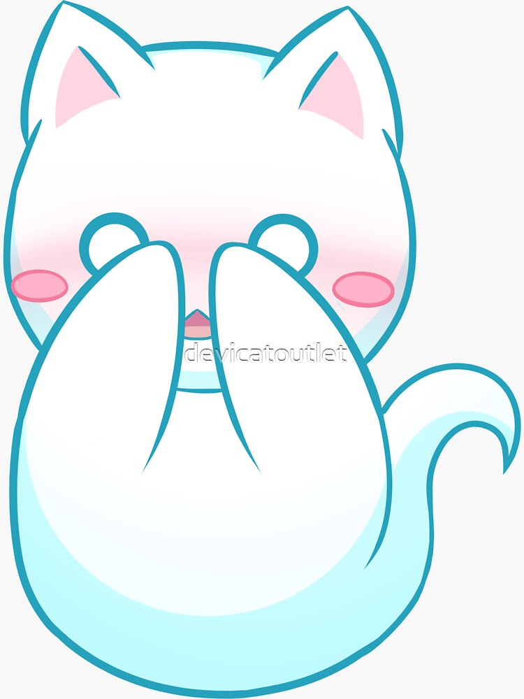 Ghost Cat - Shy - 2018 by devicatoutlet
