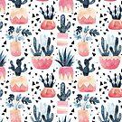 Cactus & Monstera by BekkaCampbell