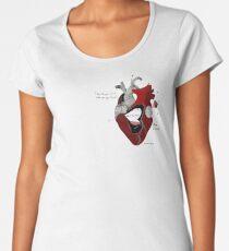 The Lost Girls Book of Divination - Corazon Illustration Premium Scoop T-Shirt
