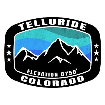 Telluride Colorado Skiing Mountains Ski Snowboarding by MyHandmadeSigns
