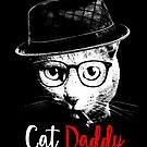 Funny The Catfather - Cat Daddy- Cat Dad- Cat Father by proeinstein
