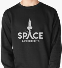 Space Architects (white logo) Pullover