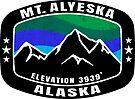 Mount Alyeska Alaska Skiing Ski Mountain Snowboarding by MyHandmadeSigns