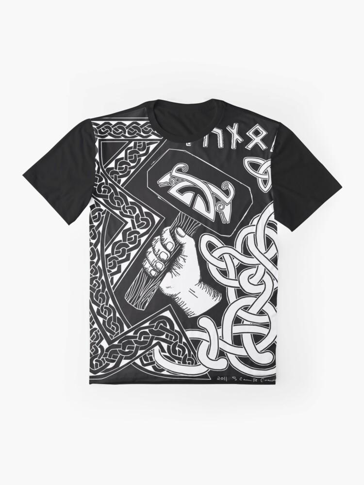 Alternate view of Thunor Graphic T-Shirt