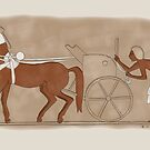 Amarna horses by Leenasart