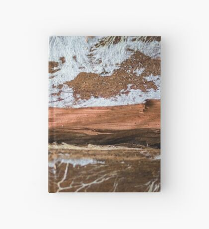 The wood draws trees - Reflecting the Nature it was Hardcover Journal