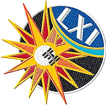 Expedition 61 Crew Patch - Preliminary Embroidery Version by Spacestuffplus