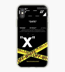 Line art Yellow iPhone Case