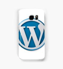 Wordpress Logo Samsung Galaxy Case/Skin