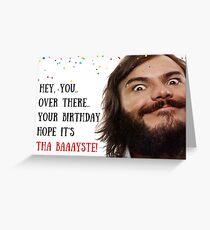 Jack Black Geburtstagskarte, Meme Grußkarten Grußkarte