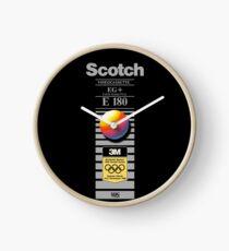 Retro VHS tape vaporwave aesthetic alternate version Clock