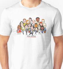Camiseta ajustada La oficina de televisión emitida