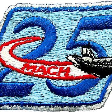 The Mach 25 Patch by Quatrosales
