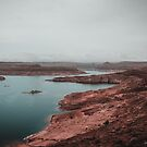 Lake Powell Arizona Fog by TheWaywardVixen