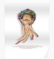 Little Profiles Optimistic Octopus Poster